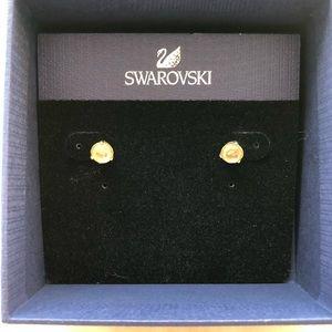 SWAROVSKI Studs SOLITAIRE PIERCED EARRINGS